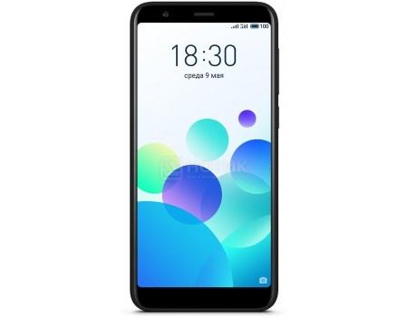 "Фотография товара смартфон Meizu M8с 16Gb Black (Android 7.0 (Nougat)/MSM8917 1400MHz/5.4"" 1440x720/2048Mb/16Gb/4G LTE ) [M810H-16-BK] (60161)"