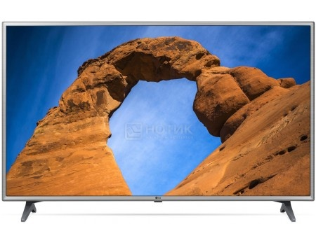 Телевизор LG 43 LED, FHD, Smart TV (webOS 3.5), Звук (20 Вт (2x10 Вт)) , 3xHDMI, 2xUSB, 1xRJ-45, PMI 100 Серый 43LK6200PLD