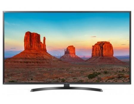 Телевизор LG 43 LED, UHD, IPS, Smart TV (webOS), Звук (20 Вт (2x10 Вт)) , 4xHDMI, 2xUSB, 1xRJ-45, PMI 100, Черный 43UK6450PLC