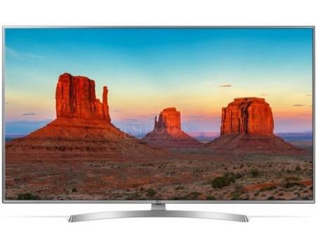 Телевизор LG 43 LED, UHD, IPS, Smart TV (webOS), Звук (20 Вт (2x10 Вт)) , 4xHDMI, 2xUSB, 1xRJ-45, PMI 100, Серебристый 43UK6510PLB