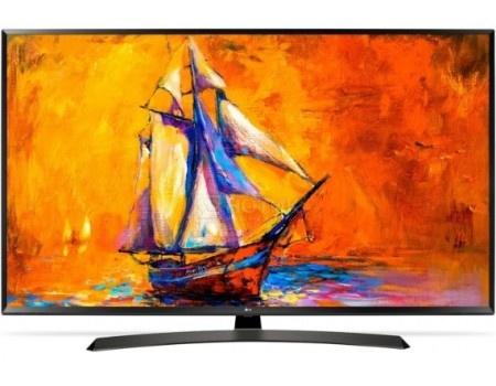 Телевизор LG 49 LED, Full HD, Smart TV (webOS), Звук (10 Вт (2x5 Вт)), 2xHDMI, 1xUSB, 1xRJ-45, PMI 100 Черный, 49LK6000PLF