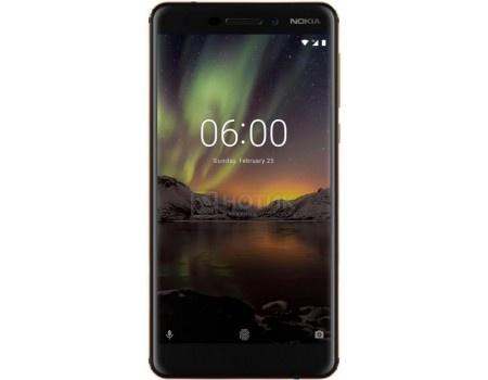 "Фотография товара смартфон Nokia 6.1 32Gb Black (Android 8.1 (Oreo)/SDM630 2200MHz/5.5"" 1920x1080/3072Mb/32Gb/4G LTE ) [11PL2B01A11] (60231)"