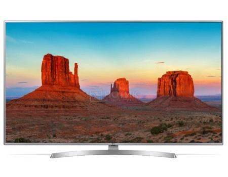 Телевизор LG 55 LED, UHD, IPS, Smart TV (webOS), Звук (20 Вт (2x10 Вт)) , 4xHDMI, 2xUSB, 1xRJ-45, Серебристый 55UK6510PLB