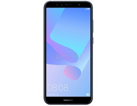 Смартфон Huawei Y6 Prime 2018 Blue (Android 8.0 (Oreo)/MSM8917 1400MHz/5.7