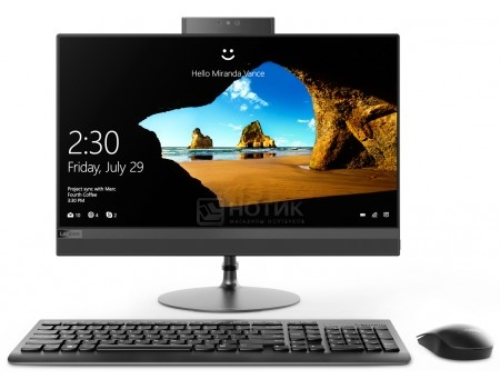 Фотография товара моноблок Lenovo IdeaCentre 520-22 (21.5 TN (LED)/ Core i3 7020U 2300MHz/ 4096Mb/ HDD 1000Gb/ Intel HD Graphics 620 64Mb) Free DOS [F0D500E0RK] (60289)