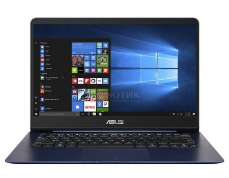 Фотография товара ультрабук ASUS Zenbook UX430UA-GV452R (14.0 IPS (LED)/ Core i7 8550U 1800MHz/ 8192Mb/ SSD / Intel UHD Graphics 620 64Mb) MS Windows 10 Professional (64-bit) [90NB0EC5-M12150] (60294)