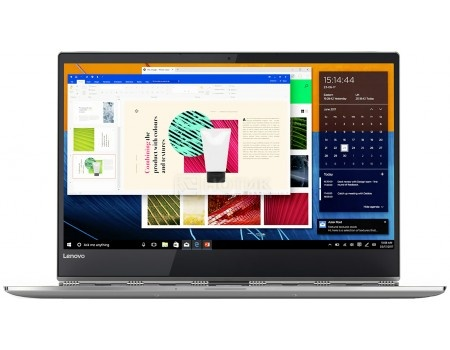 Фотография товара ультрабук Lenovo Yoga 920-13 (13.9 IPS (LED)/ Core i7 8550U 1800MHz/ 16384Mb/ SSD / Intel UHD Graphics 620 64Mb) MS Windows 10 Professional (64-bit) [80Y700CJRU] (60303)