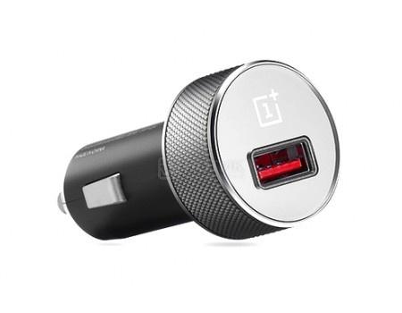 Фотография товара автомобильное зарядное устройство OnePlus Dash Car Charger USB, 2.4A/5В Черный 0201002001 (60308)