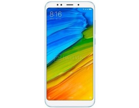 "Фотография товара смартфон Xiaomi Redmi Note 5 64Gb Blue (Android 8.0 (Oreo)/SDM636 1800MHz/6.0"" 2160x1080/4096Mb/64Gb/4G LTE ) [Redmi_Note5_64GB_Blue] (60316)"