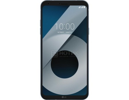 "Смартфон LG Q6+ M700AN Moroccan Blue (Android 7.1 (Nougat)/MSM8940 1400MHz/5.50"" 2160x1080/4096Mb/64Gb/4G LTE ) [LGM700AN.A4ISBL]"