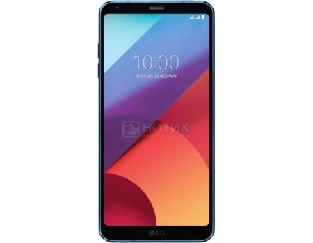 "Смартфон LG G6 H870DS 64Gb Blue (Android 7.0 (Nougat)/MSM8996 2350MHz/5.70"" 2880x1440/4096Mb/64Gb/4G LTE ) [LGH870DS.ACISUN]"
