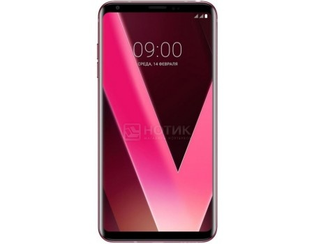 "Фотография товара смартфон LG V30+ H930DS 128Gb Pink (Android 7.1 (Nougat)/MSM8998 2450MHz/6.0"" 2880x1440/4096Mb/128Gb/4G LTE ) [LGH930DS.ACISRP] (60328)"