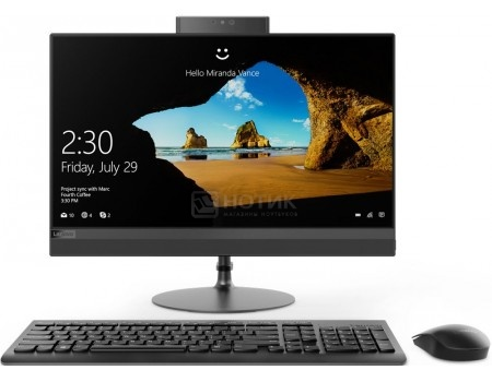 Фотография товара моноблок Lenovo IdeaCentre 520-24 (23.80 TN (LED)/ Core i7 8700T 2400MHz/ 8192Mb/ Hybrid Drive 1000Gb/ Intel UHD Graphics 630 64Mb) Free DOS [F0DJ002KRK] (60369)
