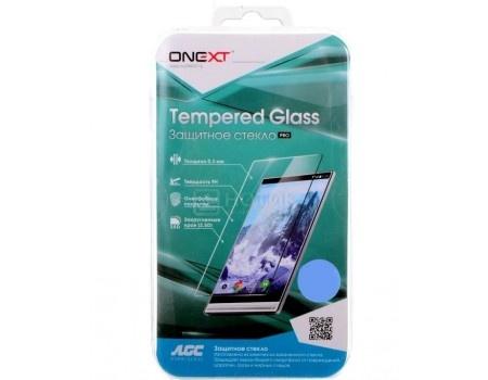 Купить защитное стекло ONEXT для смартфона Sony Xperia XZ2 Compact 3D прозрачное 41610 (60422) в Москве, в Спб и в России
