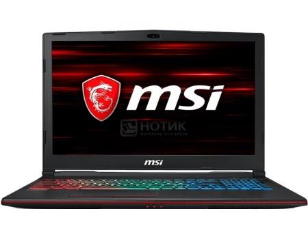 Ноутбук MSI GP63 8RE-468RU Leopard (15.6 TN (LED)/ Core i7 8750H 2200MHz/ 16384Mb/ HDD+SSD 1000Gb/ NVIDIA GeForce® GTX 1060 6144Mb) MS Windows 10 Home (64-bit) [9S7-16P522-468]