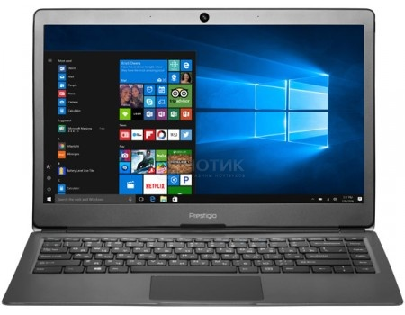 Купить ноутбук Prestigio SmartBook 133S (13.3 IPS (LED)/ Celeron Dual Core N3350 1100MHz/ 3072Mb/ SSD / Intel HD Graphics 500 64Mb) MS Windows 10 Home (64-bit) [PSB133S01ZFH_BK_CIS] (60506) в Москве, в Спб и в России