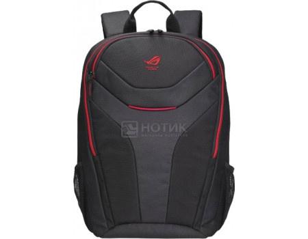 """Фотография товара рюкзак 17"""" Asus ROG S02A1115 15180-02001000 полиэстер, Черный (60531)"""