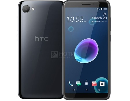 Смартфон HTC Desire 12 Cool Black (Android 7.0 (Nougat)/MT6739 1800MHz/5.5