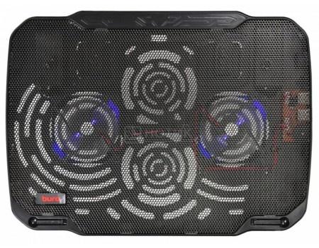 "Фотография товара подставка для ноутбука Buro BU-LCP156-B208 15,6"", Вентилятор 2x80мм, 2xUSB 2.0,  металлическая сетка, BU-LCP156-B208 (60541)"