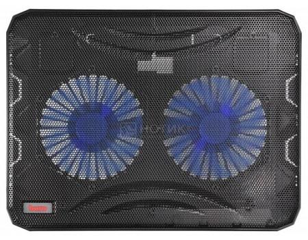 "Фотография товара подставка для ноутбука Buro BU-LCP156-B214 15,6"", Вентилятор 2x140мм, 2xUSB 2.0,  металлическая сетка, BU-LCP156-B214 (60542)"