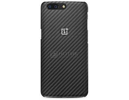 Фотография товара чехол-накладка OnePlus 5 Protective Case Karbon, кевлар/термопластик, Черный, 5431100011 (60554)