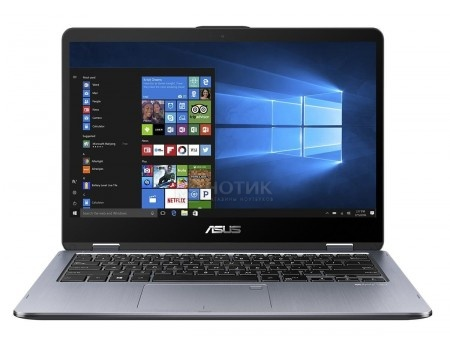 Фотография товара ультрабук ASUS VivoBook Flip TP401CA (14.0 IPS (LED)/ Core i3 7Y30 1000MHz/ 4096Mb/ SSD / Intel HD Graphics 615 64Mb) MS Windows 10 Home (64-bit) [90NB0H21-M01850] (60560)