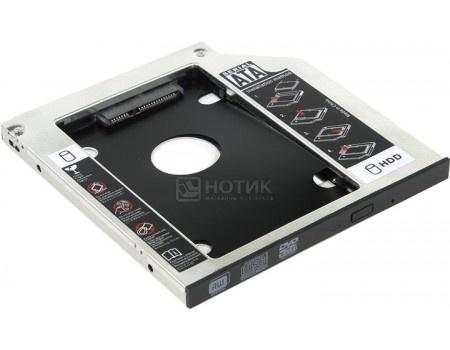 "Фотография товара переходник Optibay ORIENT UHD-2SC9 для установки в ноутбук/моноблок HDD/SSD 2.5"" вместо DVD-привода (9,5mm) UHD-2SC9 (60561)"