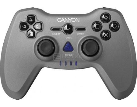 Фотография товара геймпад беспроводной Canyon CNS-GPW6, Wireless, PC/ PS3/ PC2, Черный/Серый CNS-GPW6 (60577)