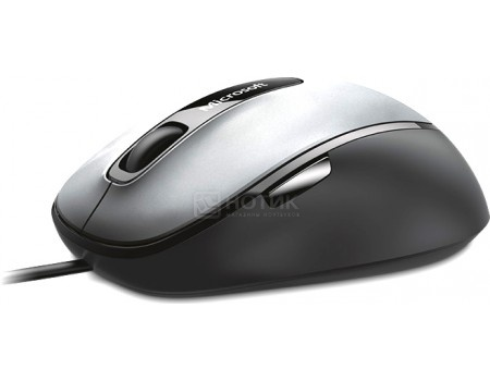 Мышь проводная Microsoft Comfort Mouse 4500 4FD-00024 1000dpi, Черный/Серый
