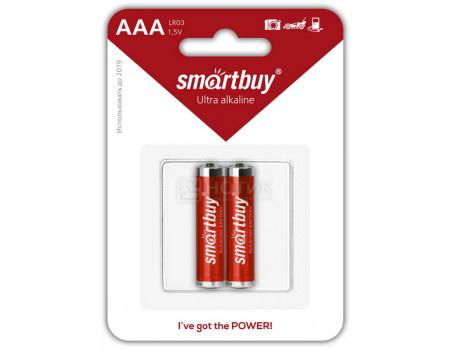 Фотография товара батарейки Smartbuy LR03/2B AAA SBBA-3A02B (60621)