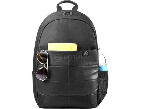 """Фотография товара рюкзак 15.6"""" HP Classic Backpack и мышь, 1FK04AA , Полиэстер, Черный (60625)"""