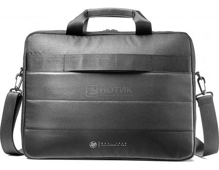 """Фотография товара сумка 15,6"""" HP Classic Briefcase, 1FK07AA, Полиэстер, Черный (60626)"""