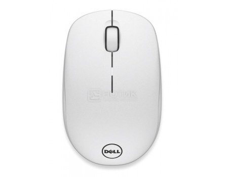 Фотография товара мышь беспроводная Dell WM126 Wireless Mouse 570-AAQG, 1000dpi, белый (60650)