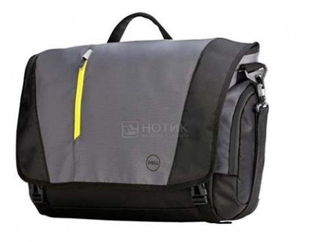 """Фотография товара сумка 17,3"""" Dell Tek Messenger, Нейлон, Черный 460-BBKO (60659)"""
