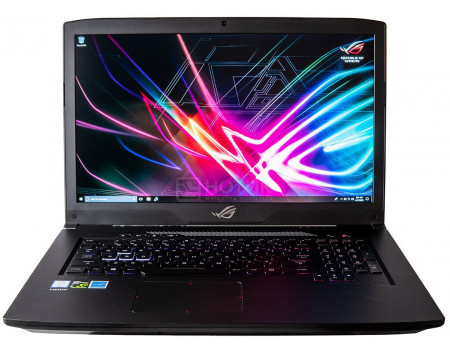 Фотография товара ноутбук ASUS ROG GL703GE-GC133 (17.3 IPS (LED)/ Core i5 8300H 2300MHz/ 8192Mb/ HDD+SSD 1000Gb/ NVIDIA GeForce® GTX 1050Ti 4096Mb) Без ОС [90NR00D2-M03460] (60663)