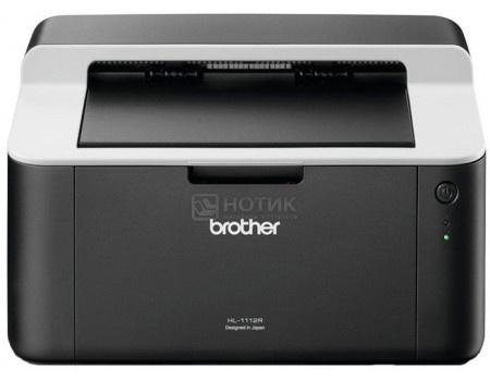 Фотография товара принтер лазерный монохромный Brother HL-1112R, A4, 20стр/мин, 32Мб, USB, Черный/Белый HL1112R1 (60670)