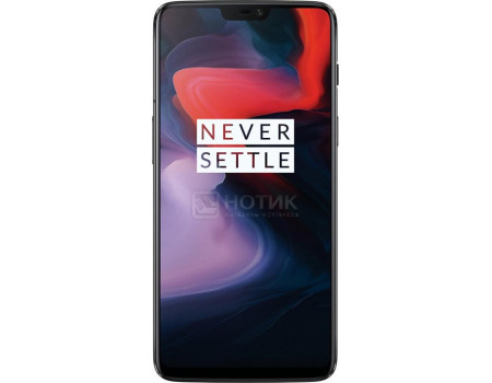 "Фотография товара смартфон OnePlus 6 256Gb Midnight Black (Android 8.1 (Oreo)/SDM845 2800MHz/6.3"" 2280x1080/8192Mb/256Gb/4G LTE ) [5011100388] (60674)"