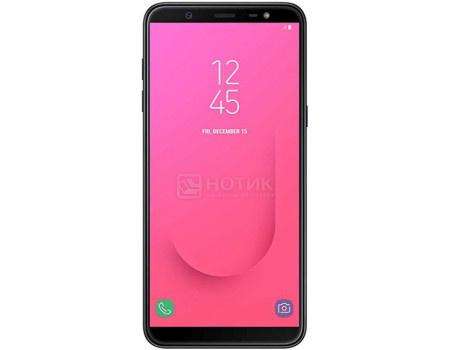 "Фотография товара смартфон Samsung Galaxy J8 2018 SM-J810F Black (Android 8.0 (Oreo)/SDM450 1800MHz/6.0"" 1480x720/3072Mb/32Gb/4G LTE ) [SM-J810FZKDSER] (60676)"