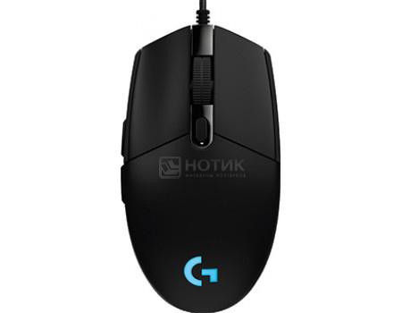 Купить мышь проводная Logitech G102 Prodigy, 6000dpi, Черный 910-004939 (60678) в Москве, в Спб и в России