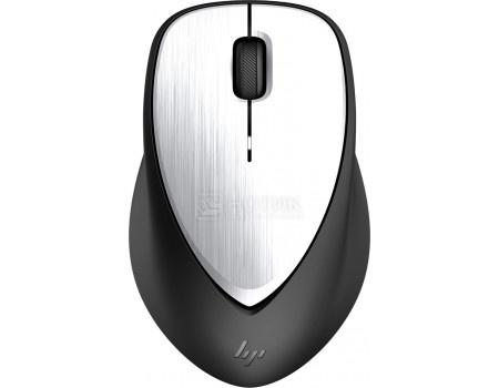 Мышь беспроводная HP ENVY Rechargeable Mouse 500, 1600dpi, 2LX92AA, Черный/Серебристый