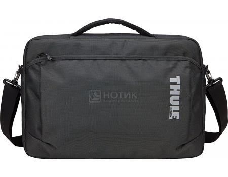"Фотография товара сумка 13.3"" Thule Subterra Attache TSA-313_DARK_SHADOW, Нейлон, Темно-серый (60682)"