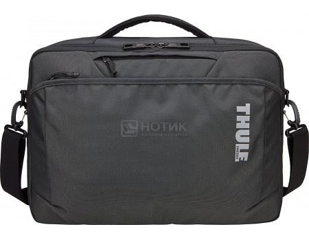 "Фотография товара сумка 15.4"" Thule Subterra Laptop Bag TSSB-316 DARK SHADOW, Нейлон, Темно-серый (60683)"