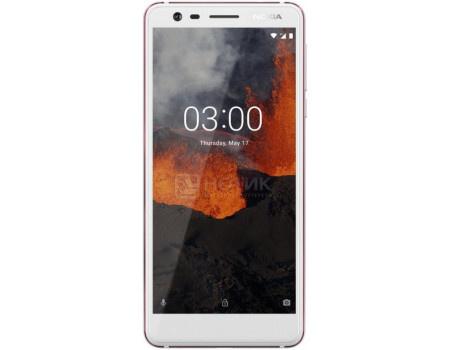 "Фотография товара смартфон Nokia 3.1 DS 16Gb White (Android 8.0 (Oreo)/MT6750 1500MHz/5.20"" 1440x720/2048Mb/16Gb/4G LTE ) [11ES2W01A01] (60716)"