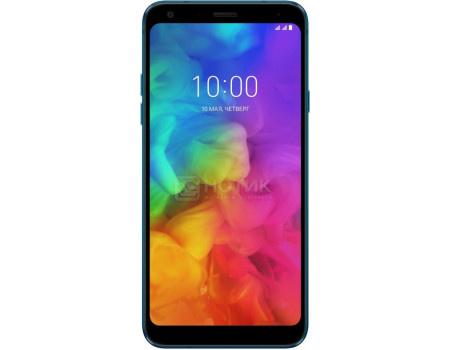 """Купить смартфон LG Q7+ Q610NA Blue (Android 8.1 (Oreo)/MT6750S 1500MHz/5.5"""" 2160x1080/4096Mb/64Gb/4G LTE ) [LMQ610NA.ACISBL] (60744) в Москве, в Спб и в России"""
