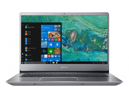Фотография товара ноутбук Acer Swift SF314-54-87RS (14.0 IPS (LED)/ Core i7 8550U 1800MHz/ 8192Mb/ SSD / Intel UHD Graphics 620 64Mb) MS Windows 10 Home (64-bit) [NX.GXZER.005] (60753)