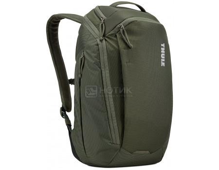 """Фотография товара рюкзак 14"""" Thule EnRoute Backpack 20L, TEBP-315_DARK_FOREST, Нейлон, Темно-зеленый (60774)"""