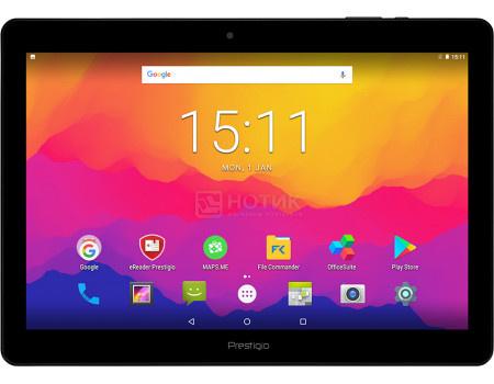 "Фотография товара планшет Prestigio MultiPad Wize 3161 3G (Android 7.0 (Nougat)/MT8321 1300MHz/10.1"" 1280x800/1024Mb/8Gb/ 3G (EDGE, HSDPA, HSUPA)) [PMT31613GCIS] (60784)"