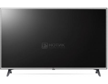 Телевизор LG 43 LED, FHD, Smart TV (webOS 3.5), Звук (20 Вт (2x10 Вт)) , 3xHDMI, 2xUSB, 1xRJ-45, Черный/Серебристый 43LK6100PLA