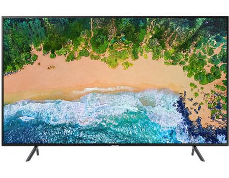 Фотография товара телевизор Samsung 40 LED, UHD, Smart TV, Звук (20 Вт (2x10 Вт)) , 3xHDMI, 2xUSB, 1xRJ-45, CMR 1300 Черный UE40NU7100UXRU (60790)