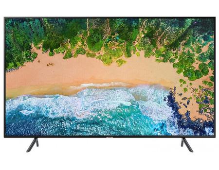 Фотография товара телевизор Samsung 43 LED, UHD, Smart TV, Звук (20 Вт (2x10 Вт)) , 3xHDMI, 2xUSB, 1xRJ-45, CMR 1300 Черный UE43NU7100UXRU (60792)